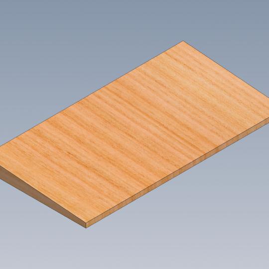 120. Louvers wood